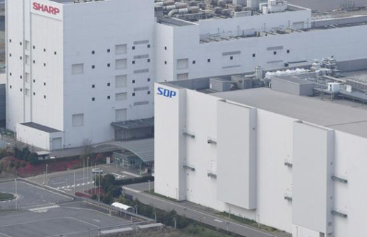 夏普与富士康正考虑在美国建电视面板工厂