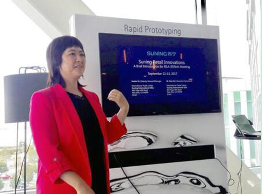 美国零售业点赞苏宁无人店 科技苏宁收获国际好评
