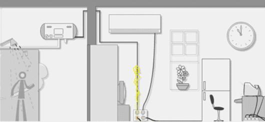 史麦斯智能出水断电热水器 为舒适沐浴护航