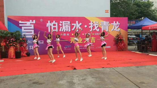 青龙家装防水广西柳州体验店盛大开业