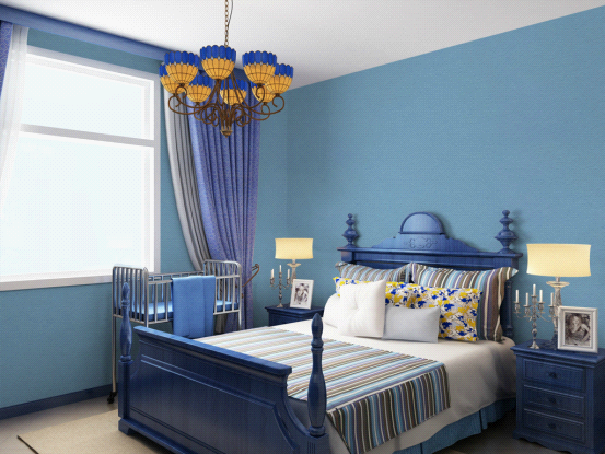 源蔻的艺术空间:卧室墙面艺术