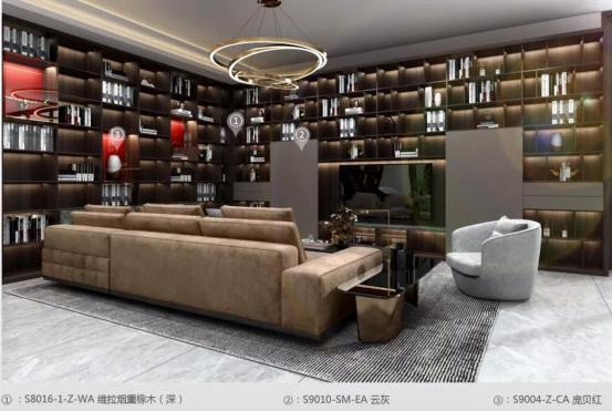 华洲木业:中山战略合作商232㎡展厅空间展示设计案例
