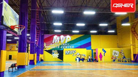 亚设体育:ASHER PVC运动地板 品质俱佳