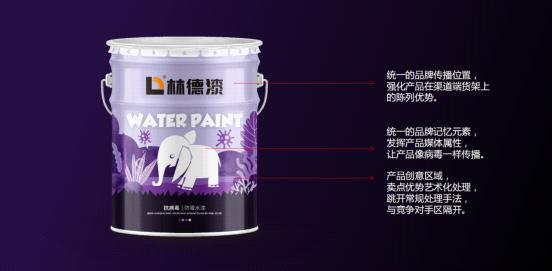 深化品牌形象 林德漆产品包装全新升级