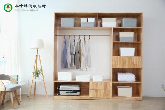 丰叶缔造臻品衣柜 助力打造温馨舒适的单身公寓